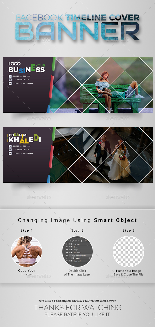 GraphicRiver Facebook Cover 20774703