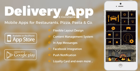 CodeCanyon Delivery Service iOS & Android App with E-Commerce Module 20774895