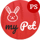 MyPet - Pet Shop & Veterinary PSD Template
