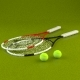 Tennis Racket and Ball - 3DOcean Item for Sale