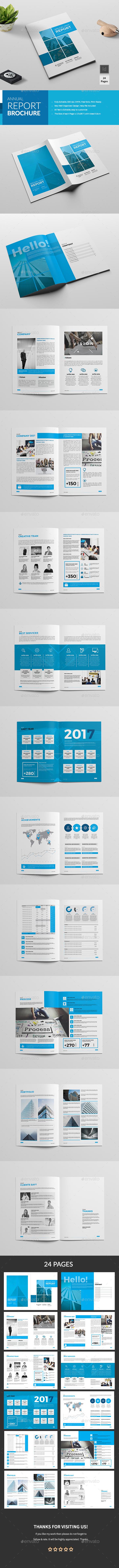GraphicRiver Annual Report Brochure 20775537