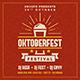 Oktoberfest Instagram Banner - GraphicRiver Item for Sale