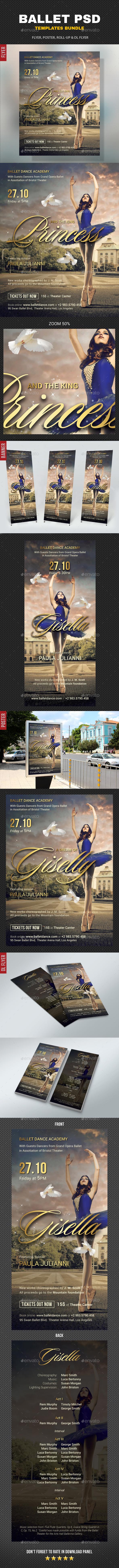GraphicRiver Ballet Bundle 20775621
