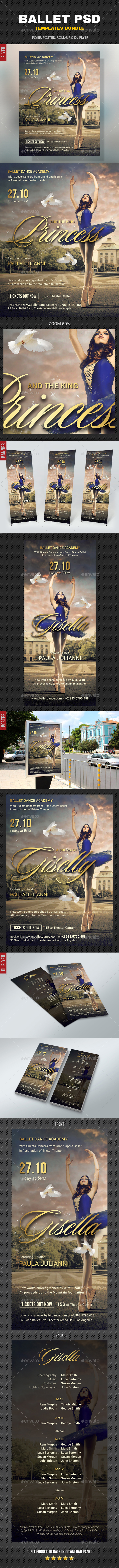 Ballet Bundle - Signage Print Templates