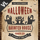 Halloween Haunted House Poster / Flyer V01