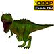 Tyrannosaurus Dinosaur Looped