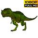 Tyrannosaurus Dinosaur Looped 4