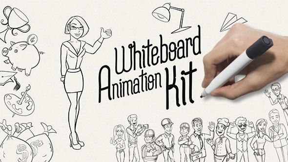 Whiteboard Animation Kit 20776234