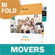 Moving Service Bifold / Halffold Brochure 2