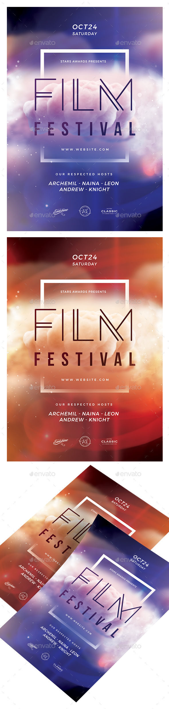 GraphicRiver Film Festival Flyer 20776423