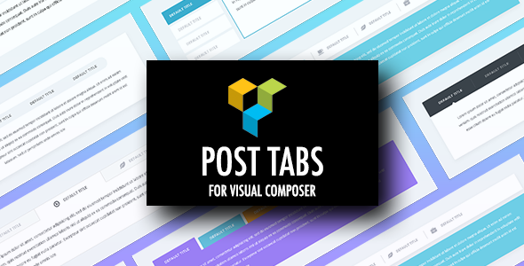 CodeCanyon Post Tabs for Visual Composer 20776472