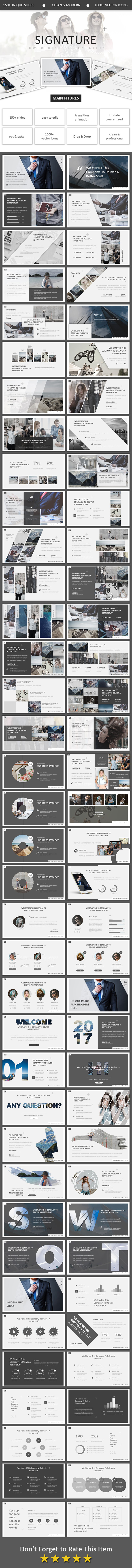 GraphicRiver Signature Powerpoint 20776645
