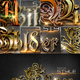 30 Bundle 3D Text Styles D25-D27