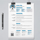 A4 Resume/CV #08 - GraphicRiver Item for Sale