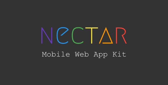 ThemeForest Nectar Mobile Web App Kit 20466093