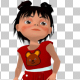Cute Little Girl Dancing - VideoHive Item for Sale