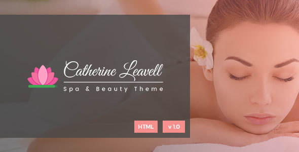 Spa - Spa and Beauty Salon Landing Page - Health & Beauty Retail