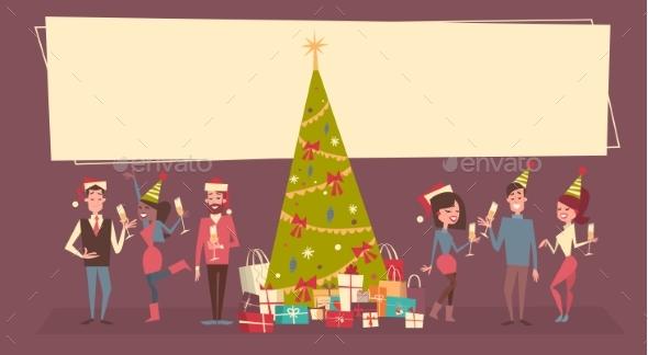 People Celebrate Christmas and New Year - Christmas Seasons/Holidays