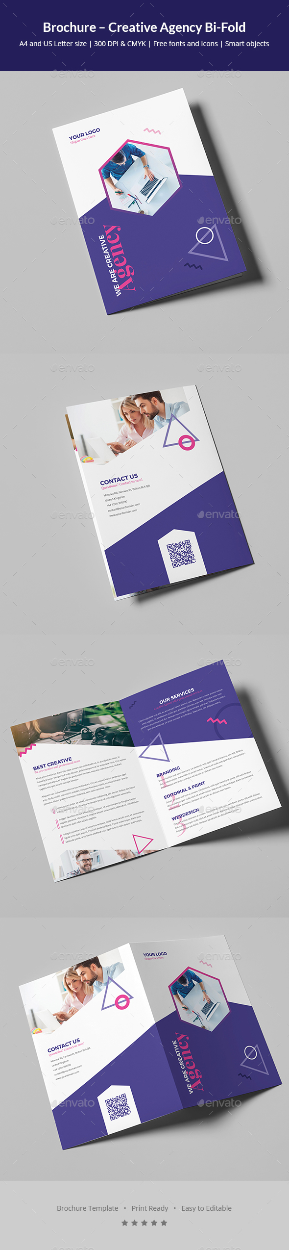 Brochure – Creative Agency Bi-Fold
