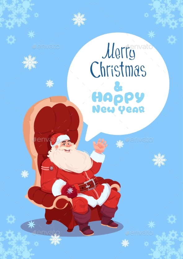 Merry Christmas and Happy New Year Greeting Card - Christmas Seasons/Holidays