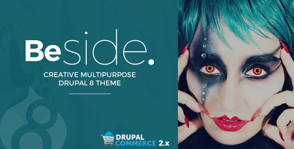 Image of Beside Creative Multipurpose Drupal 8 Theme