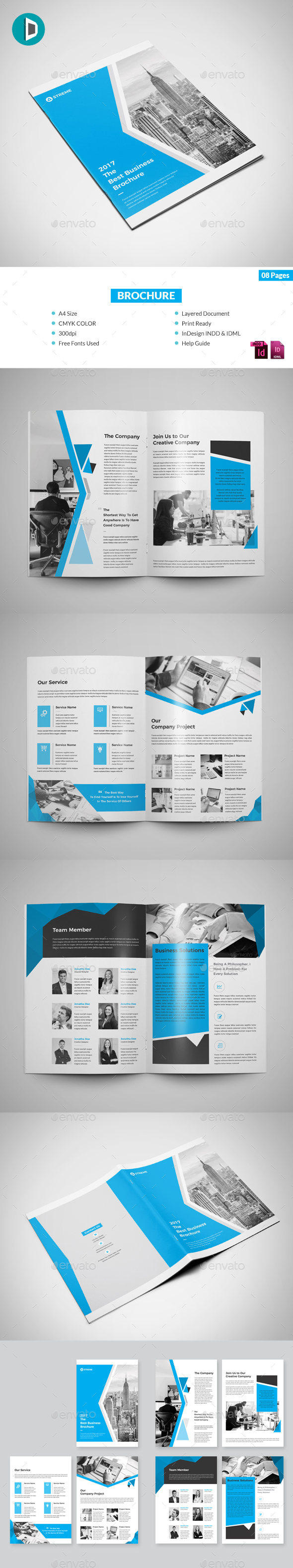 GraphicRiver 8 Page Brochure 20777533