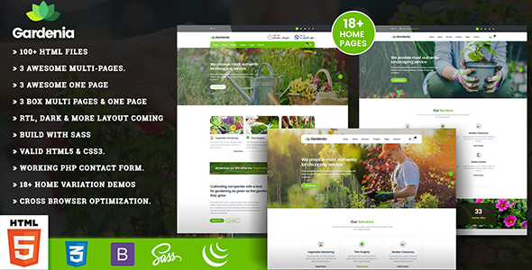 Landscaping Gardening - Gardenia