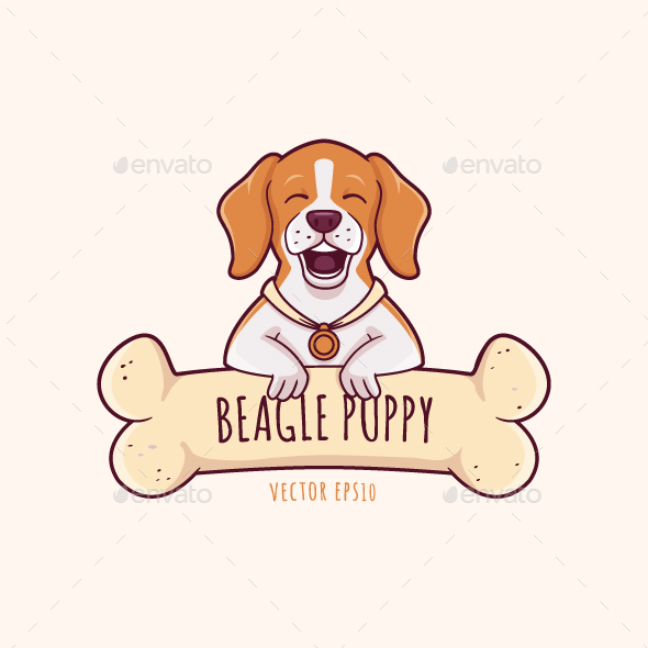 Beagle Puppy - Animals Characters