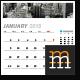 Wall Calendar 2018 - GraphicRiver Item for Sale