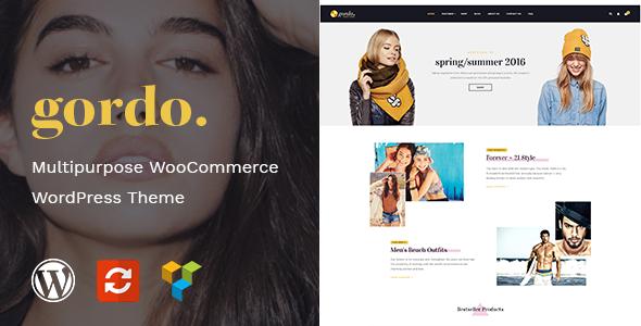 ThemeForest Gordo Fashion Responsive WooCommerce WordPress Theme 20689072