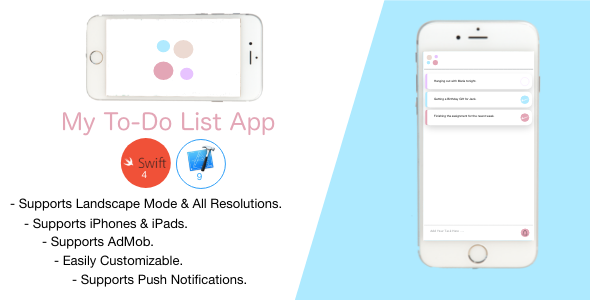 My To-Do-List App - CodeCanyon Item for Sale
