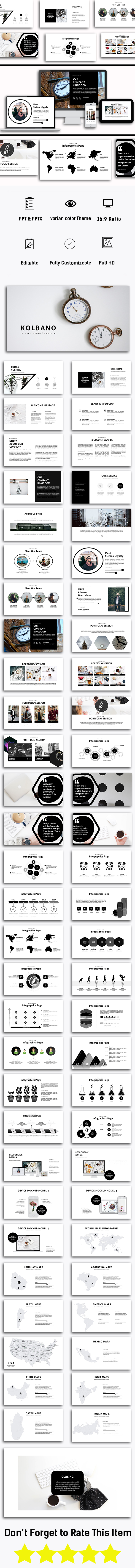 Kalbano Business Presentation - PowerPoint Templates Presentation Templates