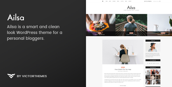 Ailsa - Personal Blog WordPress Theme - Personal Blog / Magazine