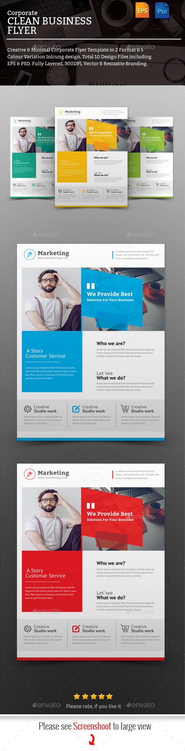 GraphicRiver Corporate Flyer 20779363