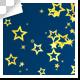 Golden Star Particles Transition – 7 Variations