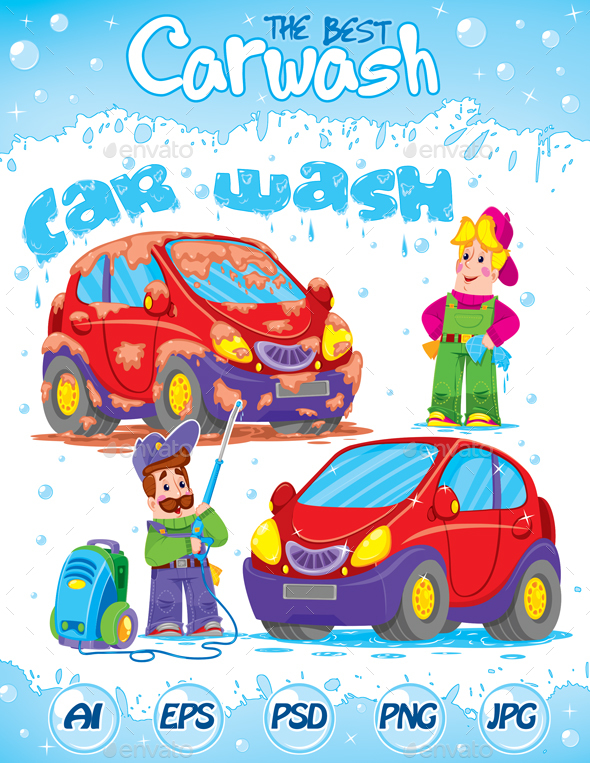 Qualitative and Joyful Car Wash - Concepts Business