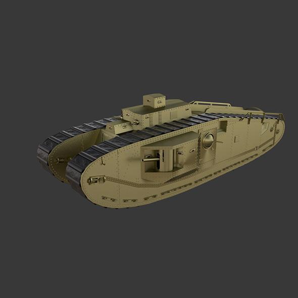 Mark VIII International (1919) - 3DOcean Item for Sale