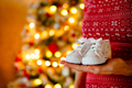 Cute little infants shoes