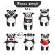 Panda Characters Set 4