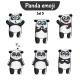 Panda Characters Set 5