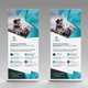 Roll Up Banner Bundle 2 in 1