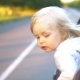Kid with Hair in the Wind Riding in the Car. - VideoHive Item for Sale
