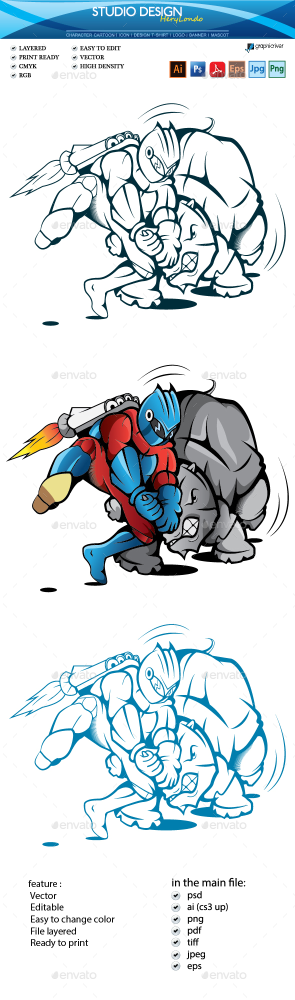 GraphicRiver Fight 20779882