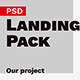 Landing Pack PSD Template