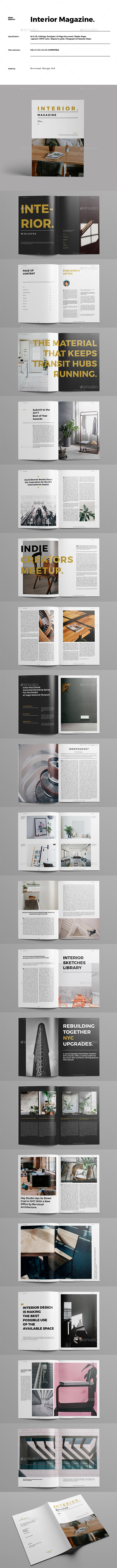 GraphicRiver Interior Magazine 20780350