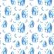 Star Dog Pattern - GraphicRiver Item for Sale