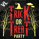 Trick or Treat Party Poster / Flyer V01 - GraphicRiver Item for Sale