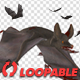 Swarm of Bats - Flying Around - Bloody Version - VideoHive Item for Sale