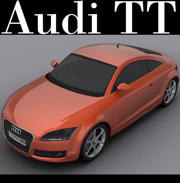 Audi TT - 3DOcean Item for Sale