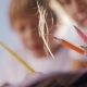 Little Boy and Girl Draw with Pencils - VideoHive Item for Sale